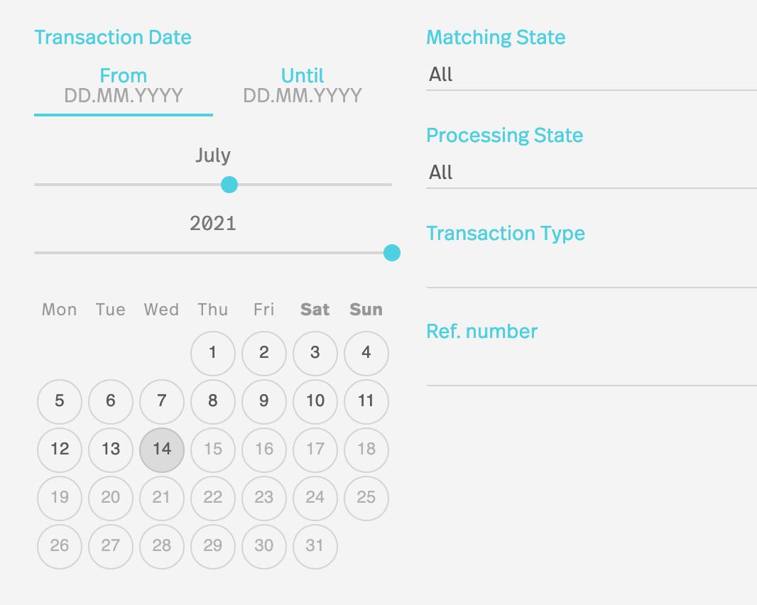 Reconciliation Matchbox Software Reports